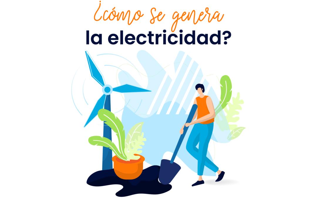 Podcast – ¿Cómo se genera la electricidad?